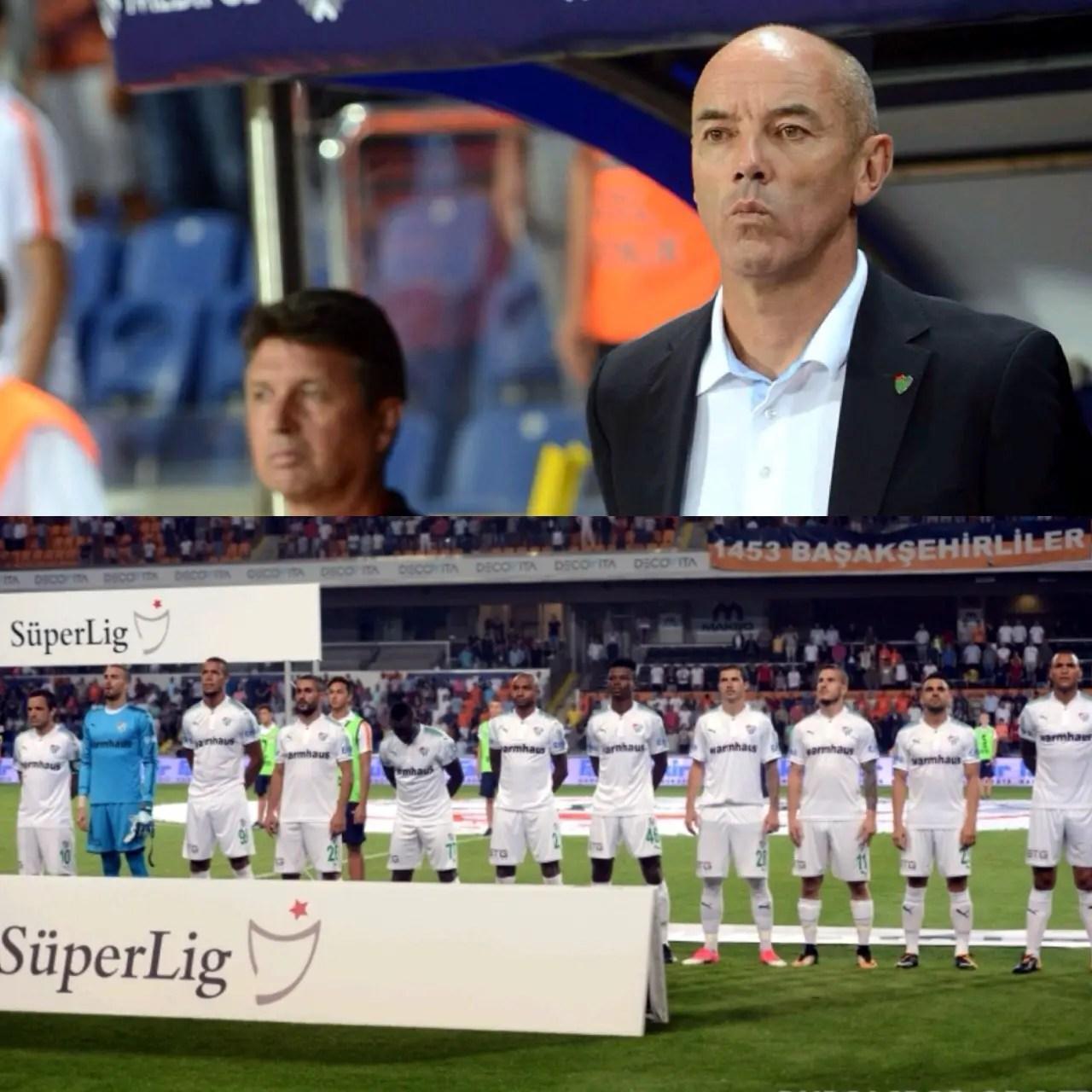 Bursaspor Coach Le Guen Exonerates Agu, Troost-Ekong On Season Opener Defeat
