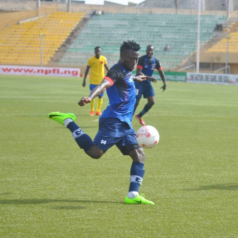 NPFL Top Scorer Okpotu Considers Offers From Foreign Clubs