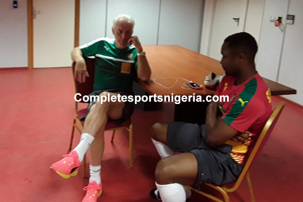 Cameroon Coach Broos: Forget World Cup, We Can Win AFCON Again