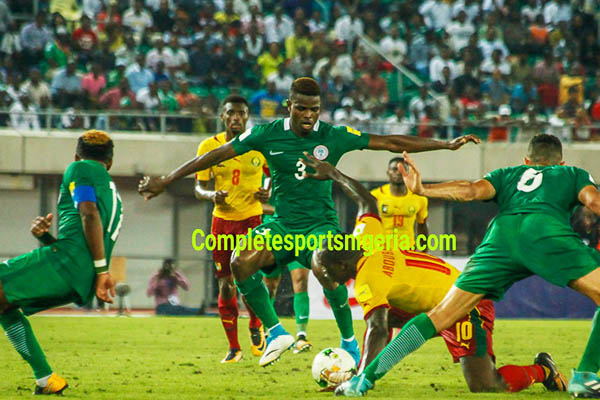Nwosu: Eagles Should Confront Zambia With Same  Character They Beat Cameroon