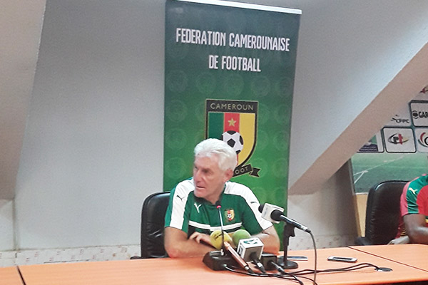 Broos: Super Eagles Will See Real Indomitable Lions On Monday