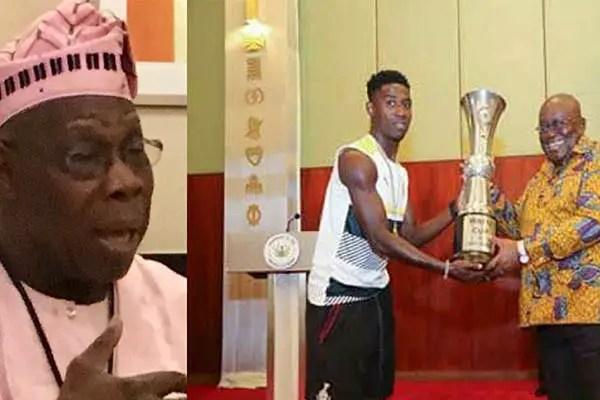 Obasanjo Congratulates President Akufo-Addo Over Ghana's WAFU Cup Win