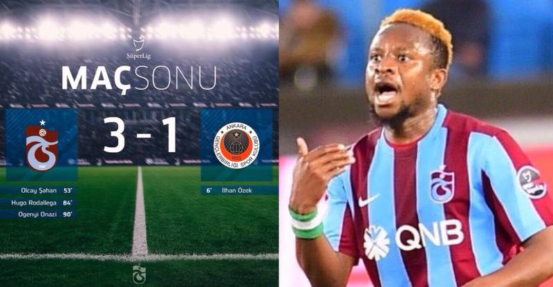 Onazi Scores First Goal Of  Season In Trabzonspor Win