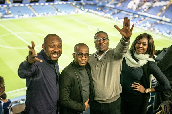 Star Lager Beer Takes Lucky Customers To Watch The Chelsea Vs Manchester City Match Live In London