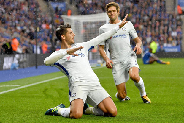 Lampard Backs 'Complete Striker' Morata To Shine In Champions League