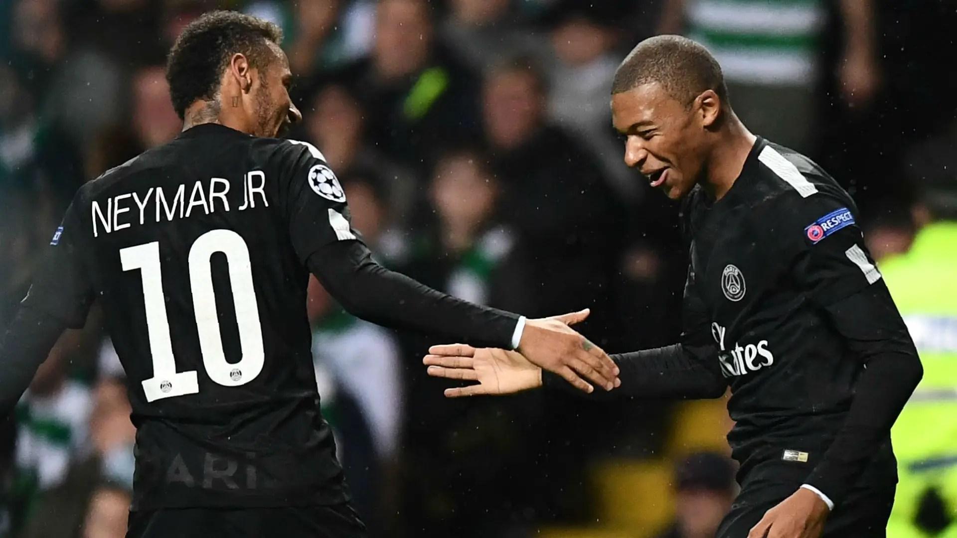 Neymar Talks Up Mbappe PSG Partnership, Insists French Striker Can Still Get Better