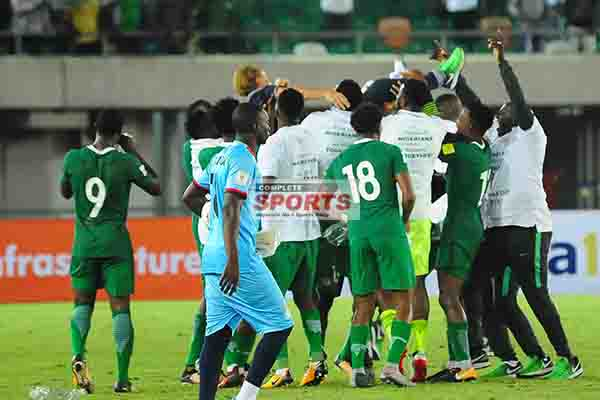 PARTY TIME PHOTOS: Super Eagles Celebrate Russia 2018 Ticket