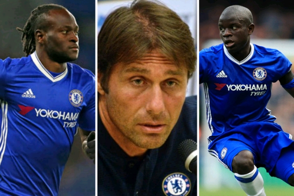 Moses, Kante Out Of  Bournemouth Vs Chelsea As Conte Sweats To 'Overcome Difficult Period'