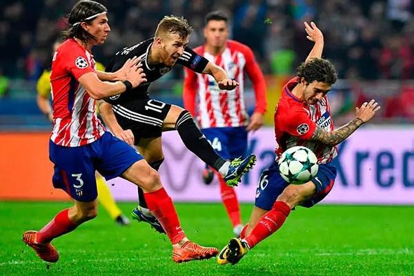 Champions League: 10-Man Qarabag Stop Atletico, Claim Historic Point