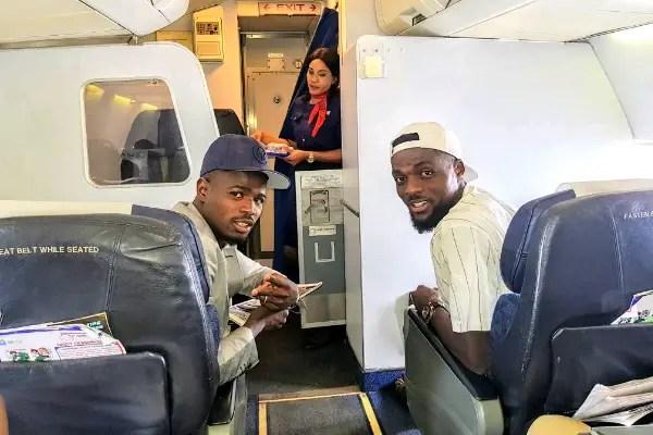 Echiejile, Ogu, Nwakaeme Arrive Uyo For Super Eagles – Chipolopolo Clash