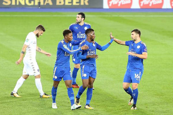 Iheanacho Relishes Top Showing For Leicester Vs Leeds, Nominated For  MVP  Award