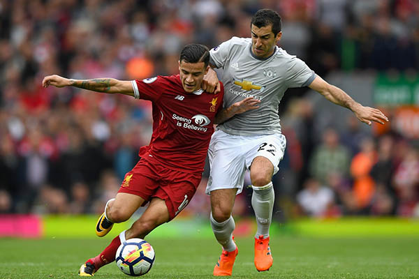 Unbeaten Man United Hold Dominant Liverpool At Anfield