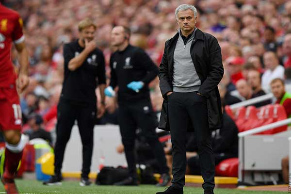 Mourinho Satisfied With Man United's 'Positive Result' Vs Liverpool