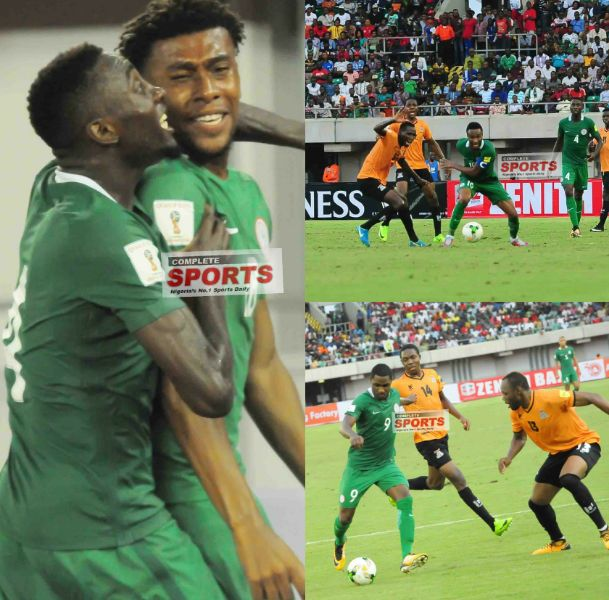 Nigeria 1-0 Zambia: How Solid Super Eagles Players Rated