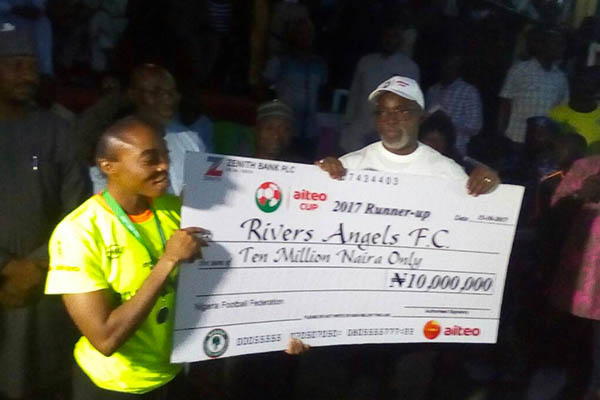 Women's Aiteo Cup: Rivers Angels Edge Ibom Angels, Claim Record 7th Trophy