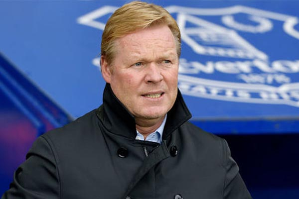 Everton Sack Ronald Koeman As Manager