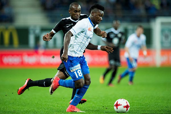 Kalu Raring To Score More Goals For Gent