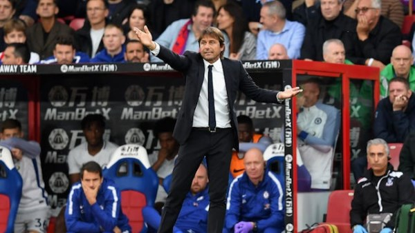 Conte Rues Chelsea's 'Lack Of Fight Vs Palace, Rules Moses Out Of Roma Tie