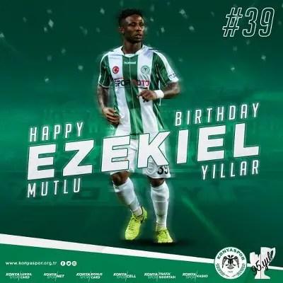 Konyaspor Celebrate Ezekiel At 24