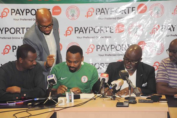 NFF Sign Partnership Deal With Payporte