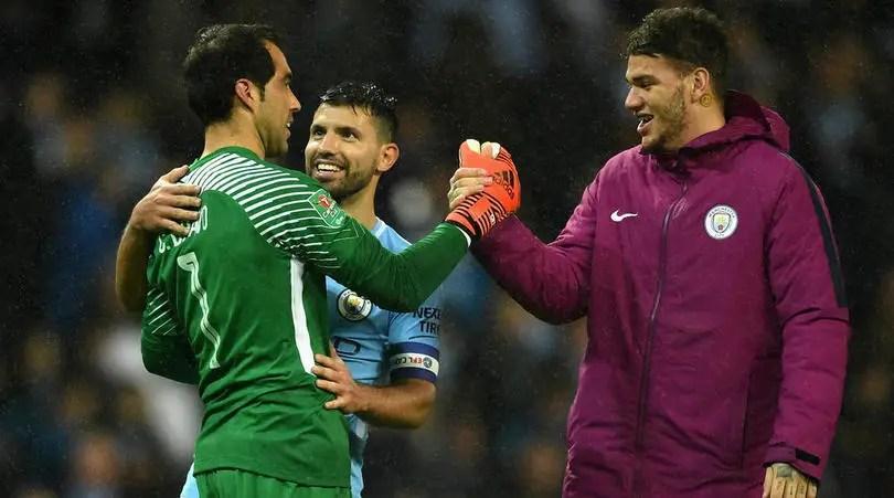 Guardiola hails Penalty Hero Bravo, Blasts FA For Weightless Match Ball