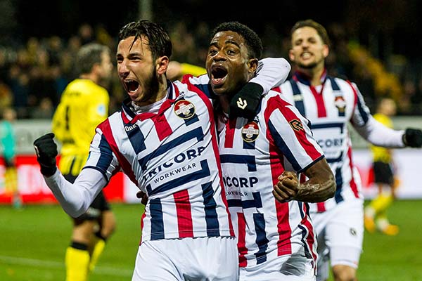 Ogbeche Bags Hat-trick As Willem II Hold Nwakali's Venlo
