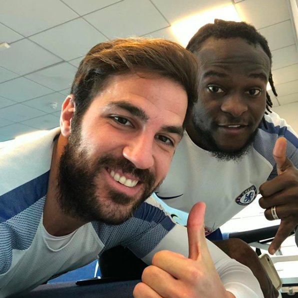 Fabregas: Vote For My Friend Moses For BBC African Player Award