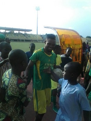 Kwara United Hotshot Olanu Targets Mfon Udoh's 23-Goal NPFL Record