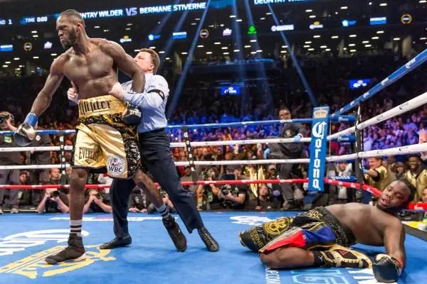 Wilder 'Declares War' On Joshua After Brutal Knockout Of Stiverne