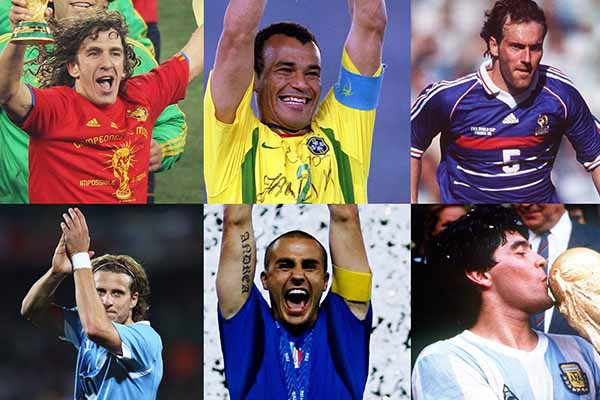 FIFA Name Maradona, Cafu, Forlan, Puyol As Lineker's World Cup Draw Assistants