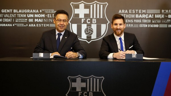 Messi Finally Signs New Barcelona Deal With €700m Buyout Clause!
