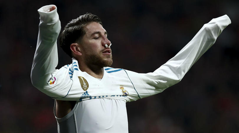 Real Madrid Confirm Sergio Ramos Broke Nose In Madrid Derby