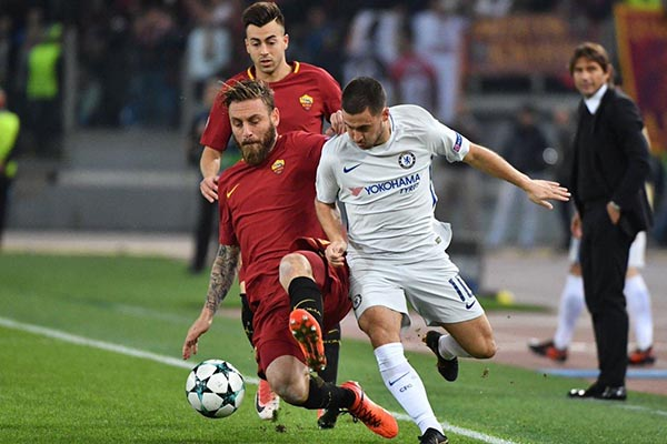 UCL:  Conte Bemoans Chelsea's 'Bad Performance' In Defeat To Roma