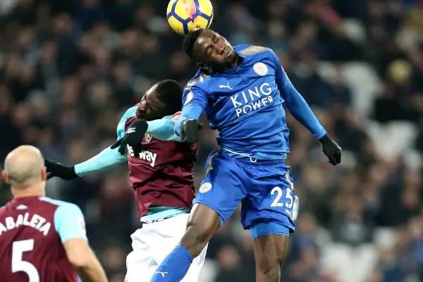 Ndidi Rises In Latest Sky Sports EPL Player Rankings