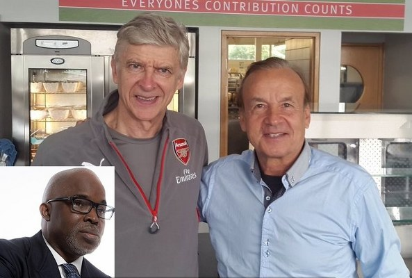Pinnick: How NFF Consulted Wenger, Others To Recommend Coach For Super Eagles
