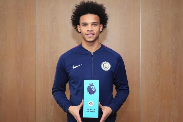 Sane, Boufal Win Premier League October Best Player, Goal Awards