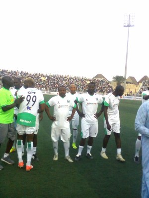 Benjani: 'Tough' Super Eagles Will Advance From 2018 World Cup Group