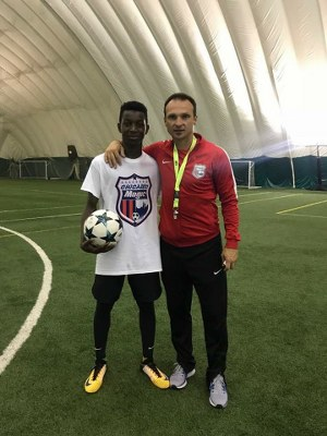 Nigerian Youngster Ekundayo Joins Chicago Magic Programme