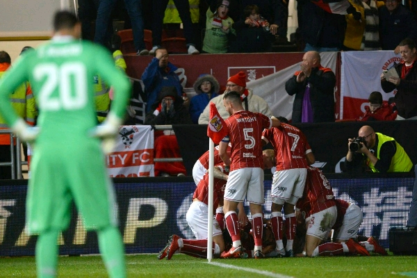 Second-Tier Bristol City Dump Man United Out Of Carabao Cup