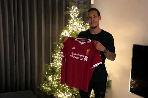 best service 8b148 b74f1 Van Dijk £75m Deal Confirmed By Liverpool, Dutchman Gets No ...
