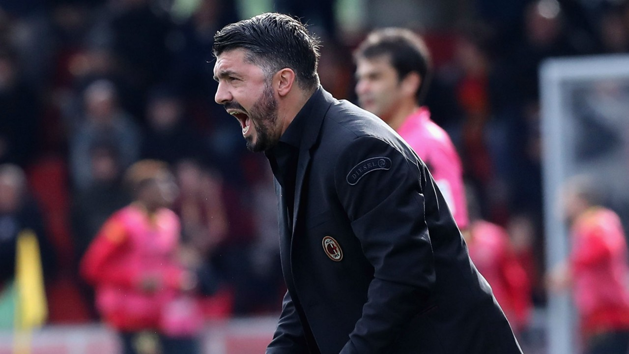 Gattuso: I'm Even Tense Playing Football With My Son, Milan is Work In Progress