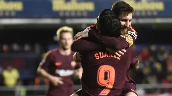Suarez Admits Barcelona Won Because Of Villarreal Red Card
