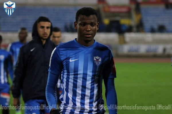 Abdullahi Celebrates As Anorthosis Reach Cyproit Cup Quarter-Finals
