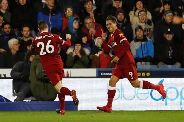 Can, Firmino, Salah Fire Liverpool Past Huddersfield