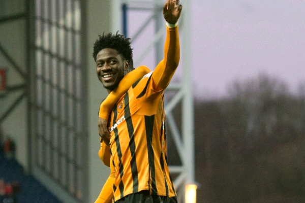 Hull, 'Roommate' Balogun Celebrate Aina's First Pro Goal