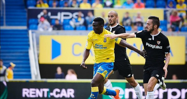 Etebo: Las Palmas Will March On Despite Defeat To Sevilla