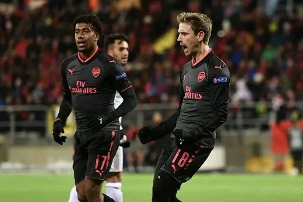 Iwobi: Arsenal Gunning For EPL Top Four, Europa League Trophy