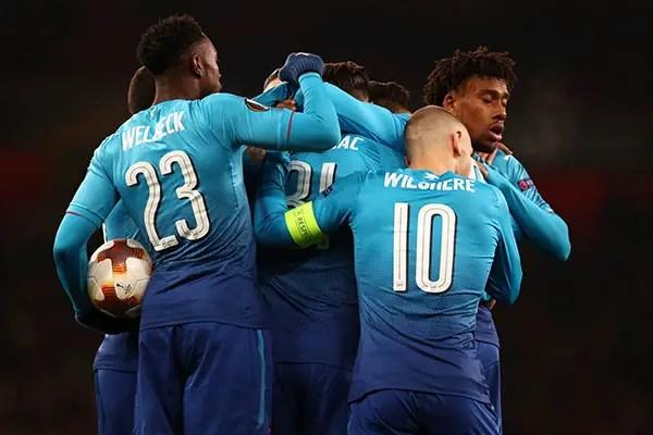 Europa League R16: Arsenal Draw Milan, Musa's CSKA Moscow To Battle Lyon