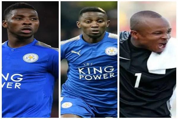 VOTE: Iheanacho, Ndidi, Ezenwa Up For CSN January Player Of The Month