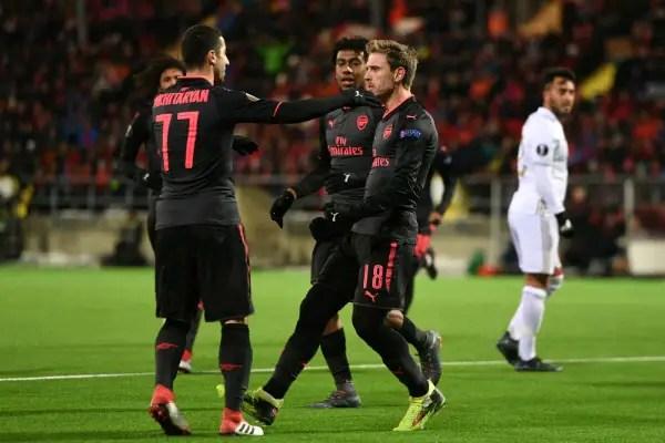 Mkhitaryan Believes Arsenal Can Win Europa League Trophy